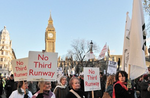 The Coalition ruled out Heathrow's expansion after coming into power in 2010 amid huge public protest, but now the opposition has agreed with the decision.