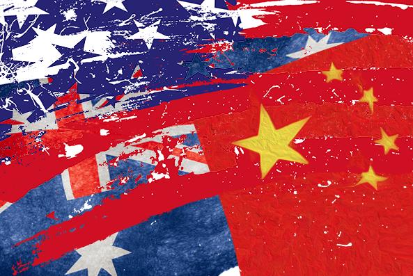 Австралия разжигает войну с Китаем.