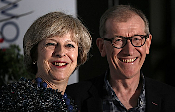 Philip May: Tory activist, City insider and Under Suspicion