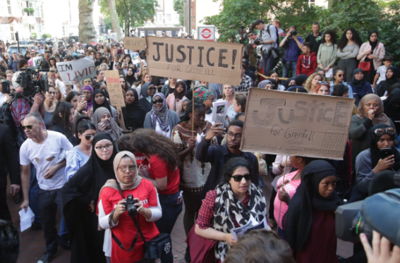 "Council Condemned For ""disgusting"" Treatment of Grenfell Fire Survivors"