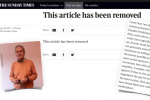 The Real Reason Why The Times Sacked Kevin Myers