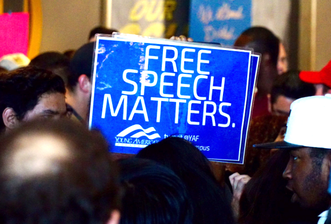 freedom of speech on college campuses Free speech and debate are under fire at a war of words on college campuses share email a war of words is raging on many a college campus a.