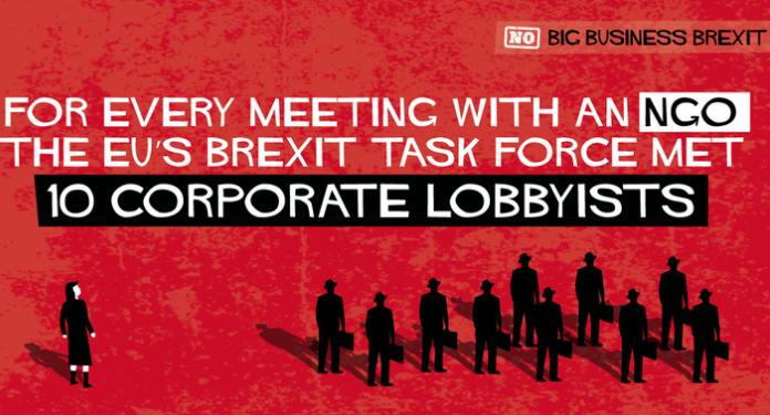 How Corporate Lobbies Dominate Meetings With UK and EU Brexit Negotiators