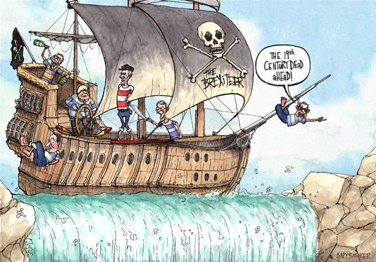 Craig Murray: The EU sails serenely past the wreck of the United Kingdom