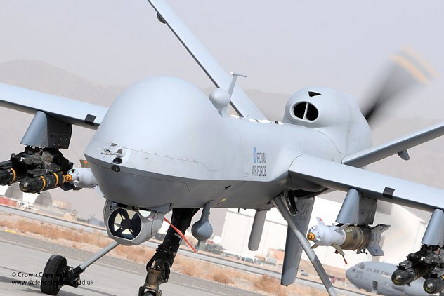 New FoI Figures on UK Air and Drone Strikes in Iraq and Syria