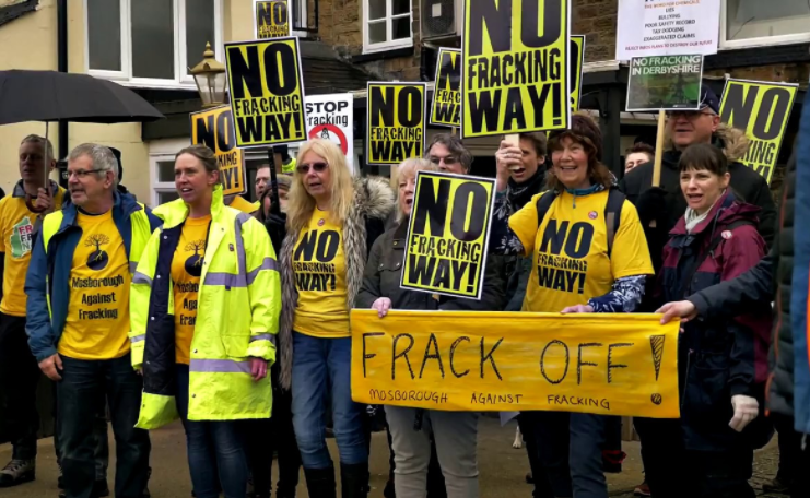 Neighbours On The Frontline Against Fracking