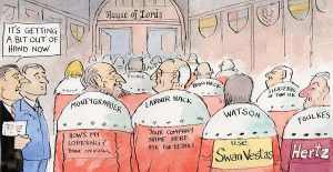 The House of Lords is a rolling expenses scandal – now politicians must act