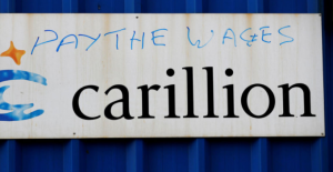 """Carillion Scandal - """"small companies to get a penny back for every pound they are owed"""""""