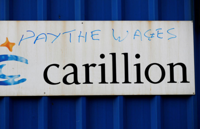"Carillion Scandal - ""small companies to get a penny back for every pound they are owed"""