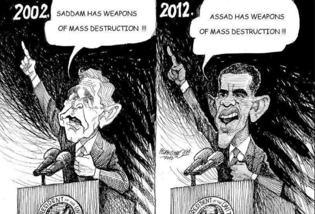US Makes New Claims Of WMD In Syria