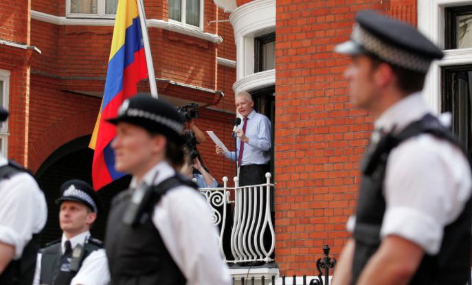 PROOF! The British Establishment V's Julian Assange