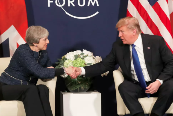 A hard-Brexit think tank accidentally published its plans for US-UK 'shadow trade talks'