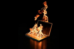 Digital book burning, censorship and the fall of free speech