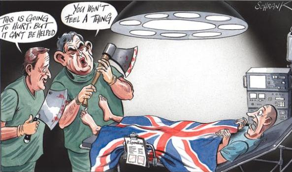 Brexit means bleak future for UK public spending