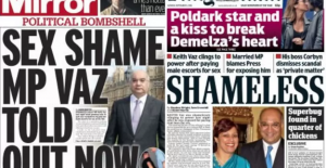 """Kieth Vaz - """"A crook of the first order"""" Is Referred Back To Met For Rent Boys and Drugs Scandal"""