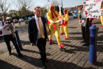 The day I dressed up in my finest chicken suit to meet Liam Fox