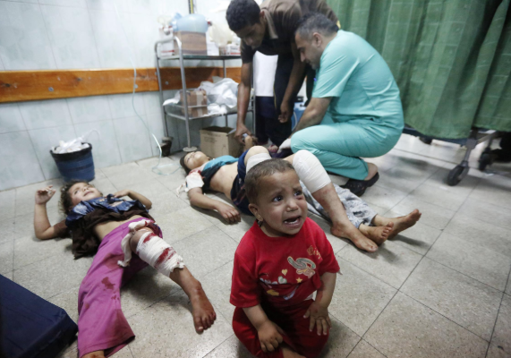 "MSF: ""The human toll of the latest events in Gaza are appalling"""