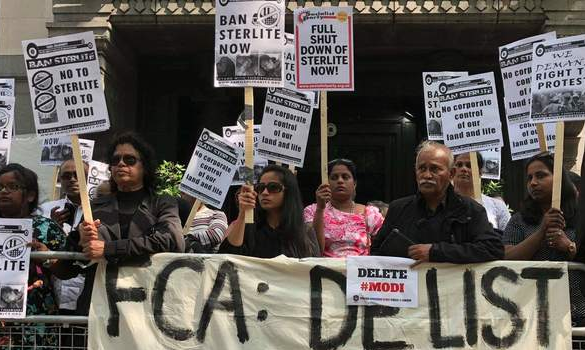 UK Government Urged to Take Action Against London-Listed Vedanta Resources After Protesters Killed in India