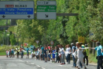 100,000 Basques create 125-mile 'human chain' for self-determination