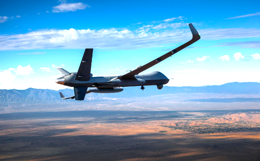 First transatlantic flight from US to UK for battle ready drone