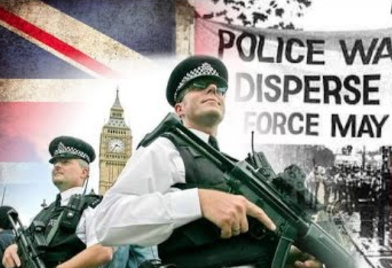 Britain - Now A Chaotic State Out Of Control