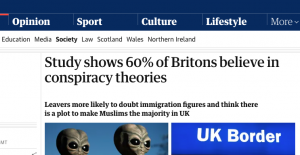 The Guardian Blames Everything on 'Leavers'