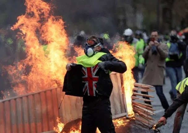 """Is Britain Involved With Europe's """"Yellow Vest"""" Protests?"""
