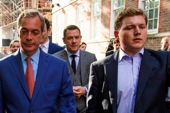 Is Nigel Farage About To Be Arrested?