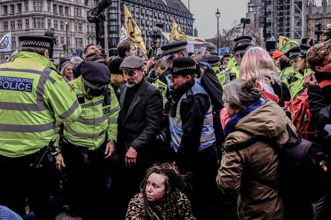 Britain losing its democratic status as it continues to convict non-violent protestors acting in the public interest