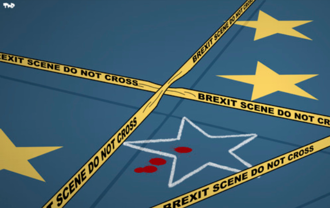 Brexit - Now just a massive national crime scene
