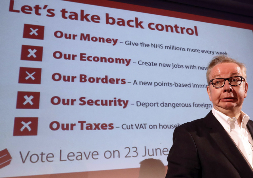 What 'Taking Back Control' actually looks like right now
