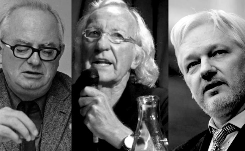 Burchett, Pilger and Assange