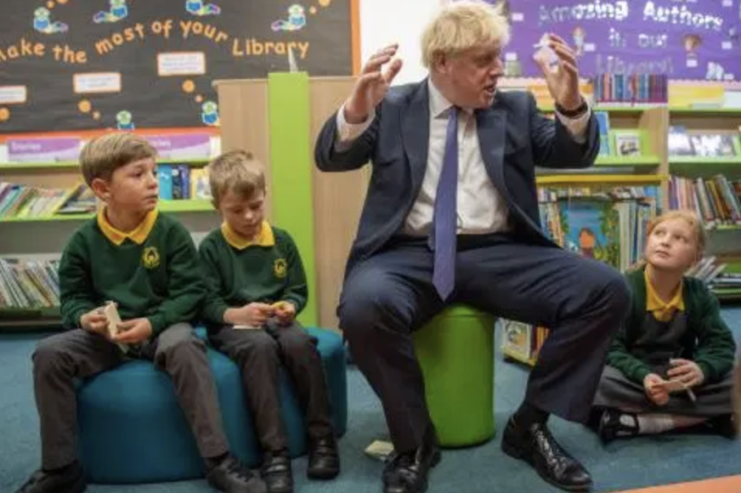 Government propaganda, targeting primary schools, paid for by taxpayers