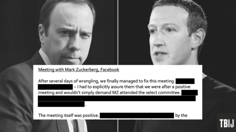 Shocking revelations of a meeting between Zuckerberg and Hancock