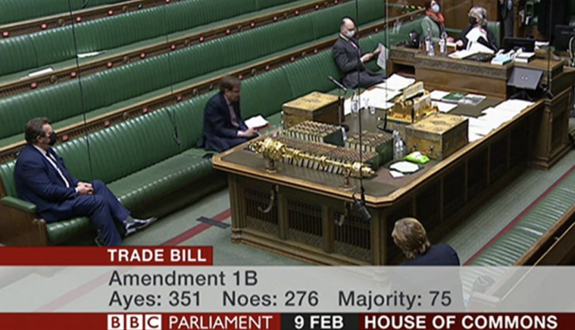 Full list of MPs who voted AGAINST giving Parliament a say on future trade deals