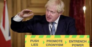 The crookedness of the Boris Johnson government laid bare