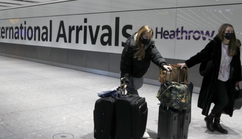 Banned - but thousands of 'holidaymakers' arrive every day into UK